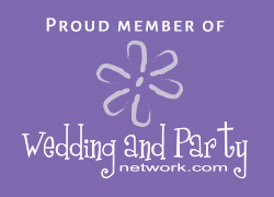 wedding and party badge