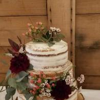 Flowers go perfectly on Cake!